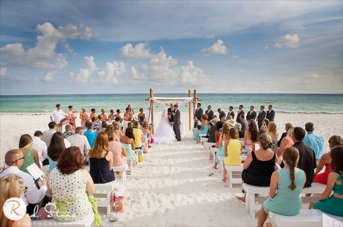 Carillon beach resort wedding